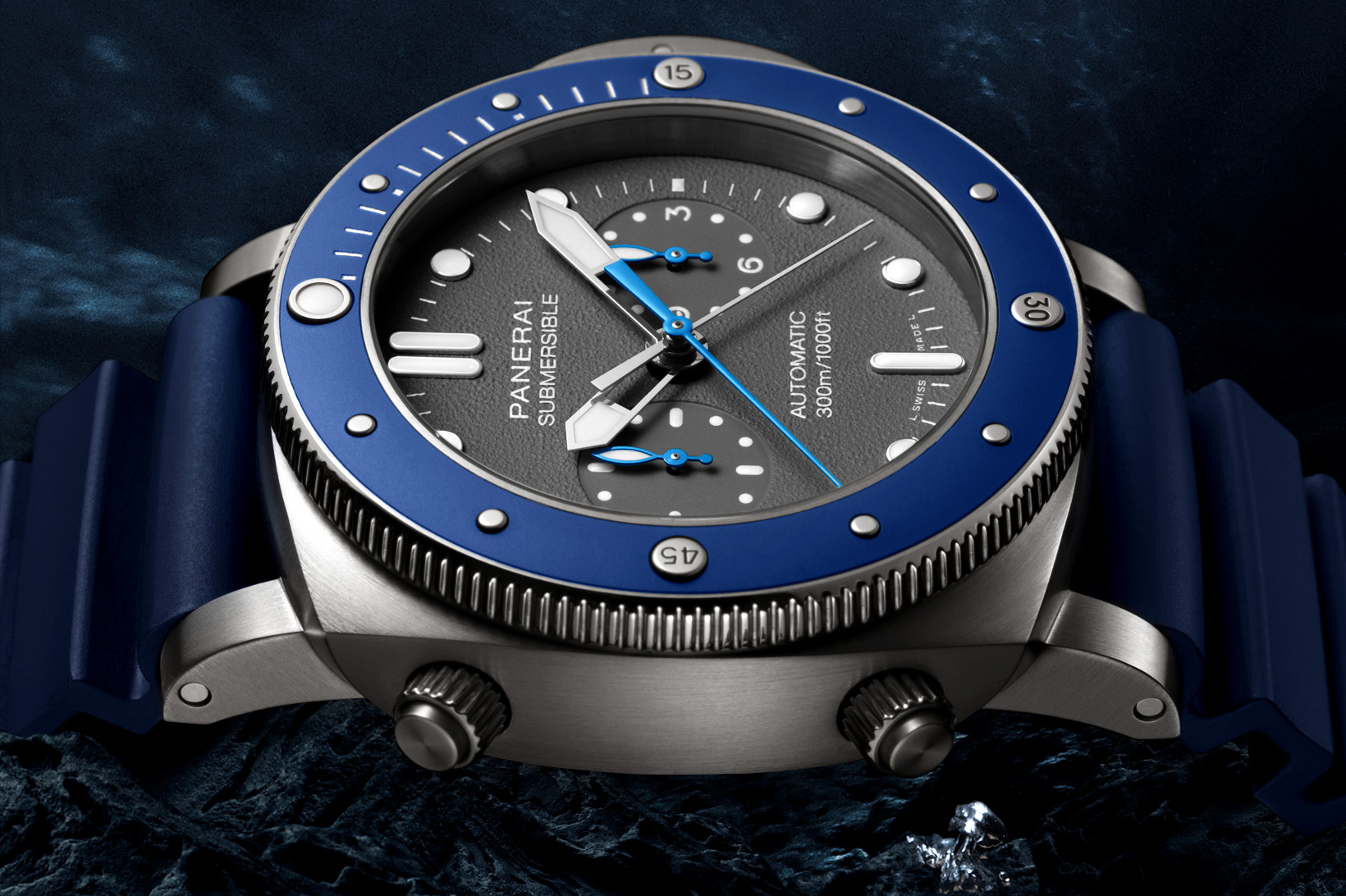 Panerai Luminor Submersible 1950 Chrono Guillaume Néry Edition PAM982 1